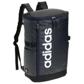 (Bag & Luggage SELECTION/カバンのセレクション)アディダス リュック スクエア ボックス型 31L A3 adidas 55483 軽量 撥水 チェストベルト付き 男女兼用 メンズ レディース/ユニセックス ネイビー