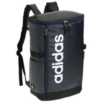 (Bag & Luggage SELECTION/カバンのセレクション)アディダス リュック スクエア ボックス型 31L A3 adidas 55483 軽量 撥水 チェストベルト付き 男女兼用 メンズ レディース/ユニセックス ネイビー 送料無料