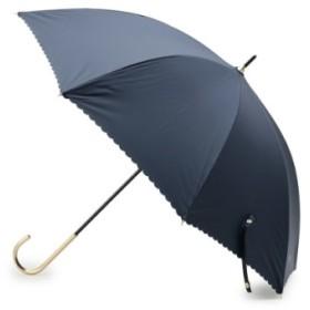 (SOUP/スープ)◆晴雨兼用ワントーンスカラップ長傘/レディース ネイビー(093)