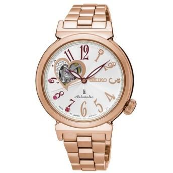 クリスマス限定600個!SEIKO セイコー LUKIA ルキア SSA834J1 シルバー×ピンクゴールド 腕時計 レディース