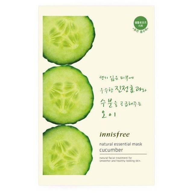 innisfree(イニスフリー)Essential mask cucumber ナチュラル エッセンシャル マスク きゅうり対応 韓国コスメ/韓国 コスメ/韓コス/BBクリー