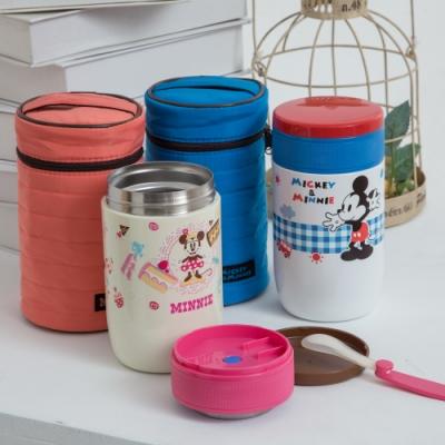 【優貝選】迪士尼 米奇/米妮 大容量保溫罐/副食品保溫罐