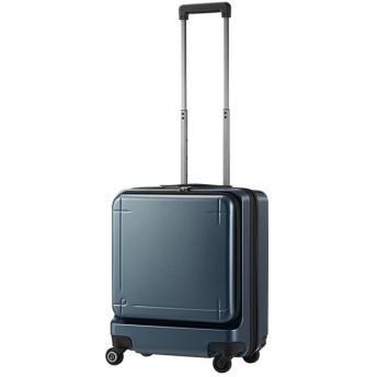カバンのセレクション エース プロテカ マックスパス3 スーツケース 機内持ち込み Sサイズ 40L ACE 02961 ストッパー フロントオープン ユニセックス グレー フリー 【Bag & Luggage SELECTION】