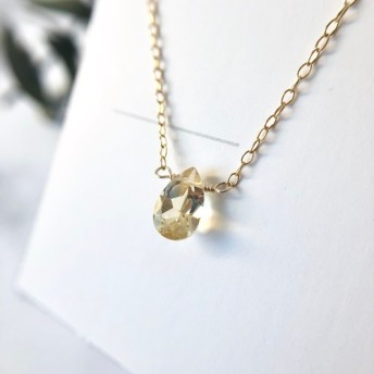 宝石質シトリン 14kgf ネックレス02