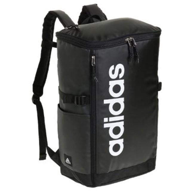 (Bag & Luggage SELECTION/カバンのセレクション)アディダス リュック スクエア ボックス型 31L A3 adidas 55483 軽量 撥水 チェストベルト付き 男女兼用 メンズ レディース/ユニセックス ブラック 送料無料