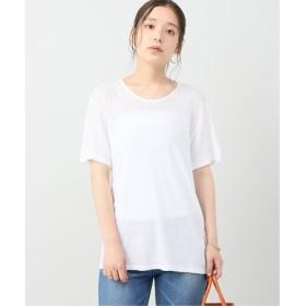 Plage JEANERICAJEANCO AMA AMI S/SL Tシャツ ホワイト フリー