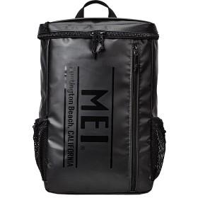 カバンのセレクション メイ リュック メンズ レディース ロゴ スクエア型 大容量 25L MEI mdtp505 ユニセックス ブラック フリー 【Bag & Luggage SELECTION】