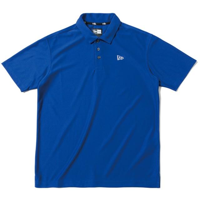 1fd4bc3b2ffc1 【ニューエラ公式】 ゴルフ ポロシャツ Hex Tech カーミングブルー メンズ レディース Large ポロシャツ 12108270 NEW