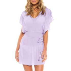 ベッカ レディース ワンピース トップス Becca Palermo Cover-Up Dress Iris