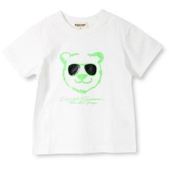 【25%OFF】 ブランシェス サングラスくま半袖Tシャツ(90~140cm) レディース オフホワイト 90cm 【branshes】 【セール開催中】