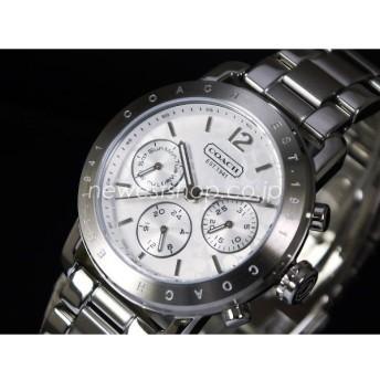 COACH コーチ Legacy Sport Small レガシー スポーツ スモール 14501837 シルバー レディース 腕時計