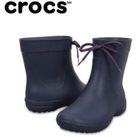 クロックス crocs freesail shorty rainboot w クロックス フリーセイル ショーティー レイン ブーツ ウィメン 203851-410 crocs run