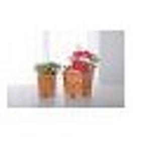 陶器植木鉢3点セット UH04/3BR