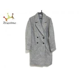 アングリッド UNGRID コート サイズS レディース 美品 ライトグレー 冬物     スペシャル特価 20191219