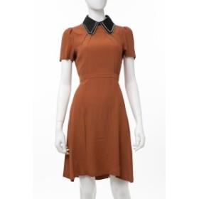 ヌメロヴェントゥーノ N°21 ワンピース ドレス ブラウン レディース (H021 5111) 送料無料 2019年秋冬新作