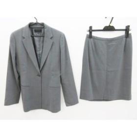 アンタイトル UNTITLED スカートスーツ サイズ11 M レディース 美品 グレー【中古】20190705