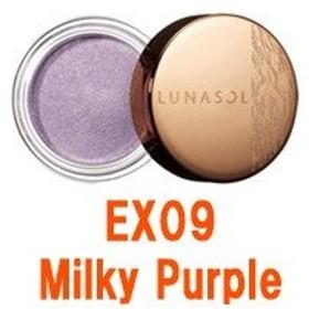 定形外は送料290円から カネボウ ルナソルシアーグロッシーアイズ EX09 Milky Purple (LUNASOL / アイシャドウ)