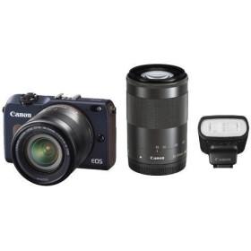 キャノン デジタル一眼レフカメラ EOS M2 ダブルズームキット ベイブルー