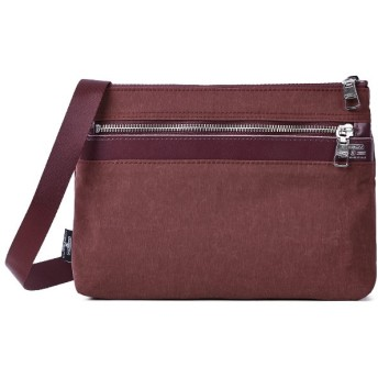 カバンのセレクション アッソブ サコッシュ ショルダーバッグ メンズ レディース ブランド AS2OV SHRINK NYLON 091704 ユニセックス ワイン フリー 【Bag & Luggage SELECTION】