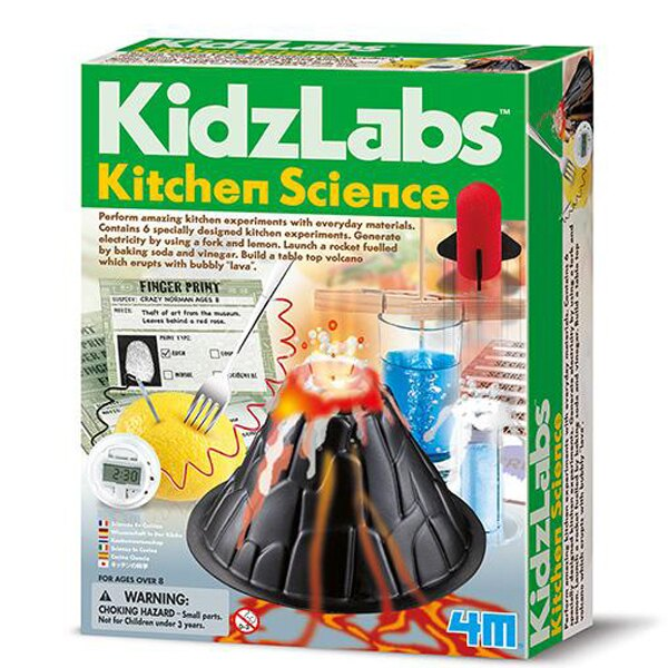 【4M】03296 科學探索系列-趣味廚房科學 Kitchen Science