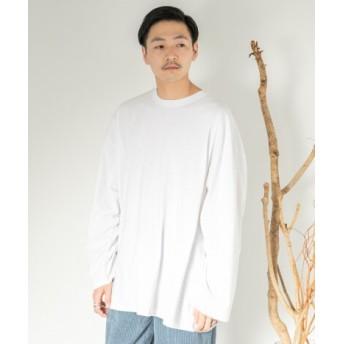 SENSE OF PLACE(センスオブプレイス) トップス Tシャツ・カットソー エクストラルーズTシャツ