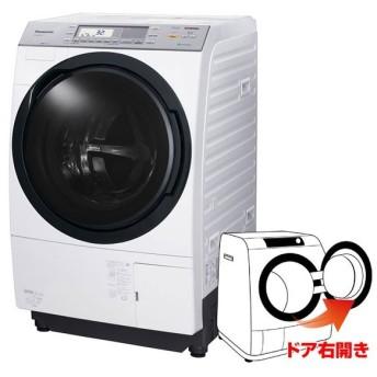 Panasonic / パナソニック ドラム洗濯乾燥機NA-VX8700R-W 右開きクリスタルホワイト[大型商品 日にち、時間指定不可]