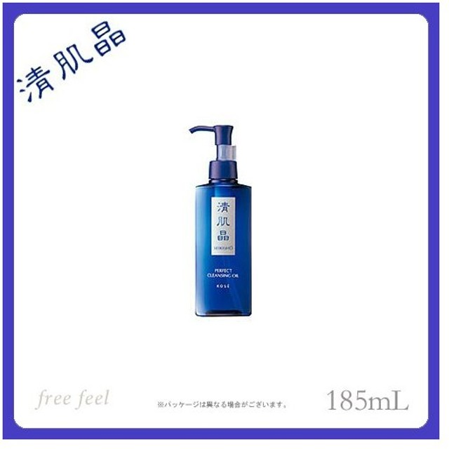 KOSE 清肌晶 パーフェクトクレンジングオイル (洗い流し専用) 185ml コーセー