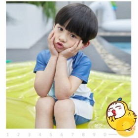 4e4dd91d3ee 2019新作男の子 キッズ 子供 水着 オシャレ ファッシュン 夏物 三点セット 小学生 かわいい 水遊ぶ