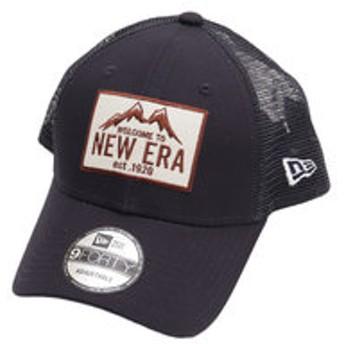 【Super Sports XEBIO & mall店:帽子】9FORTY トラッカー ニューエラマウンテン ネイビー 11897310
