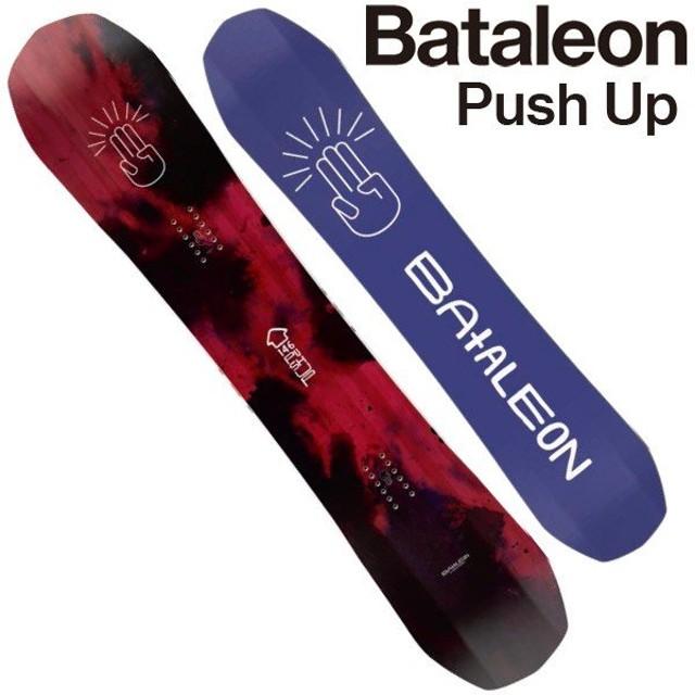 19-20 BATALEON/バタレオン PUSH UP プッシュアップ レディース 板 スノーボード 2020