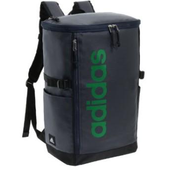 (Bag & Luggage SELECTION/カバンのセレクション)アディダス リュック スクエア ボックス型 31L A3 adidas 55483 軽量 撥水 チェストベルト付き 男女兼用 メンズ レディース/ユニセックス ネイビー系1 送料無料