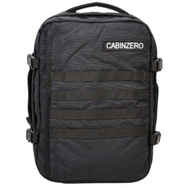(Bag & Luggage SELECTION/カバンのセレクション)キャビンゼロ リュック ミリタリー 28L (正規10年保証) メンズ レディース cabin zero 機内持ち込み 大容量 旅行 トラベル/ユニセックス ブラック