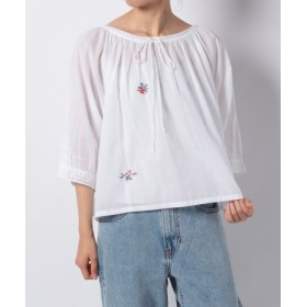 (LEVI'S OUTLET/リーバイス アウトレット)MARLEY TOP BRIGHT WHITE/レディース ナチュラル