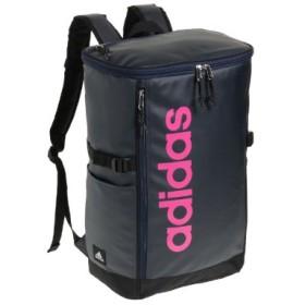 (Bag & Luggage SELECTION/カバンのセレクション)アディダス リュック スクエア ボックス型 31L A3 adidas 55483 軽量 撥水 チェストベルト付き 男女兼用 メンズ レディース/ユニセックス ネイビー系2 送料無料