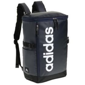 (Bag & Luggage SELECTION/カバンのセレクション)アディダス リュック スクエア 23L B4 adidas 55482 軽量 撥水 チェストベルト付き 男女兼用 メンズ レディース/ユニセックス ネイビー