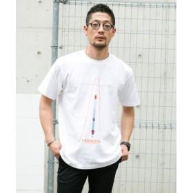ROSSO(ロッソ) トップス Tシャツ・カットソー インターステラテクノロジズ×ROSSO グラフィックTシャツ(C)