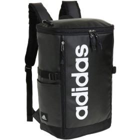 カバンのセレクション アディダス リュック スクエア 23L B4 adidas 55482 軽量 撥水 チェストベルト付き 男女兼用 メンズ レディース ユニセックス ブラック フリー 【Bag & Luggage SELECTION】
