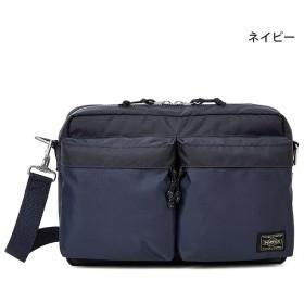 カバンのセレクション 吉田カバン ポーター フォース ショルダーバッグ メンズ ミリタリー B5 PORTER 855 05457 ユニセックス ネイビー フリー 【Bag & Luggage SELECTION】