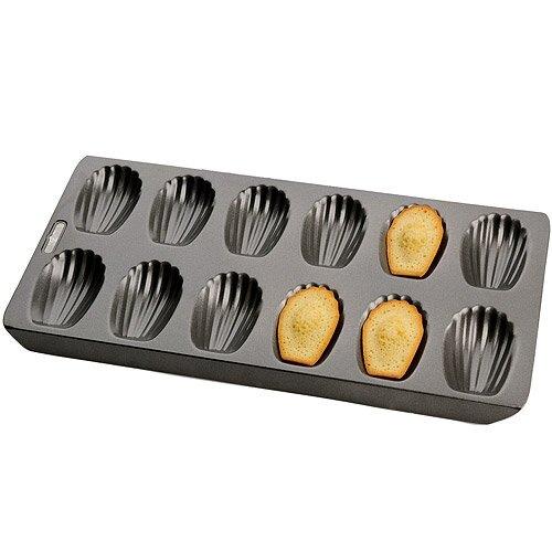 《KitchenCraft》Chicago 12格不沾瑪德蓮烤盤