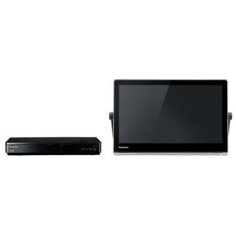 ポータブルテレビ 15インチ 15V型 ビエラ ブルーレイディスクプレーヤー HDDレコーダー付 パナソニック UN-15TD8-K ブラック(1)
