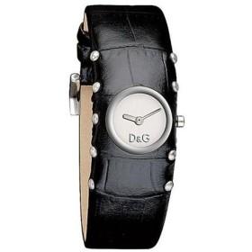 D&G ドルチェ&ガッバーナ COTTAGE コテージ DW0351 シルバー×ブラック レディース 腕時計