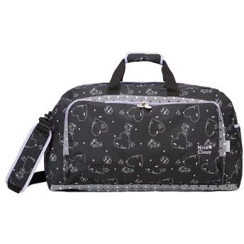 カバンのセレクション ナイスクラップ ボストンバッグ 42L 修学旅行 林間学校 女の子 女子 かわいい NICE CLAUP NC358 ユニセックス ブラック フリー 【Bag & Luggage SELECTION】