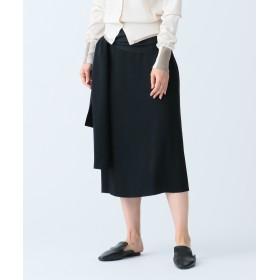 【オンワード】 JOSEPH WOMEN(ジョゼフ ウィメン) RENNE / LIGHT CADY スカート ブラック 38 レディース 【送料無料】