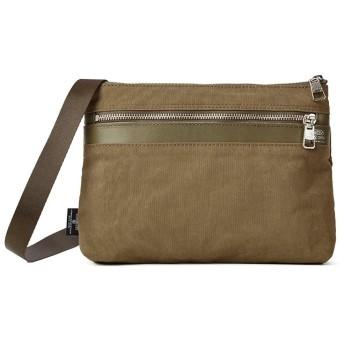 カバンのセレクション アッソブ サコッシュ ショルダーバッグ メンズ レディース ブランド AS2OV SHRINK NYLON 091704 ユニセックス カーキ フリー 【Bag & Luggage SELECTION】