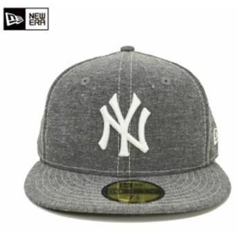[NEW ERA/ニューエラ]Linen Chambray ニューヨーク ヤンキース s11480030 帽子 キャップ ストリート