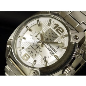 DIESEL ディーゼル 腕時計 DZ4203 シルバー DZ-4203