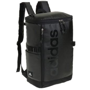 (Bag & Luggage SELECTION/カバンのセレクション)アディダス リュック スクエア 23L B4 adidas 55482 軽量 撥水 チェストベルト付き 男女兼用 メンズ レディース/ユニセックス ブラック系1 送料無料