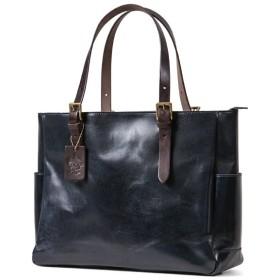 カバンのセレクション ツェハ ブリリアント ビジネスバッグ メンズ 本革 日本製 A4 ビジネストート Zeha 290 9800 ユニセックス ネイビー 在庫 【Bag & Luggage SELECTION】