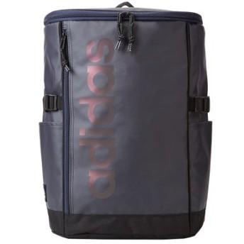 (Bag & Luggage SELECTION/カバンのセレクション)アディダス リュック スクエア ボックス型 23L B4 adidas 55831 スクールバッグ 撥水 男女兼用 メンズ レディース/ユニセックス ネイビー 送料無料