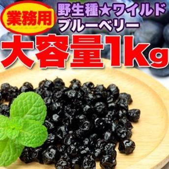 野生種★ワイルドブルーベリー大容量1kg